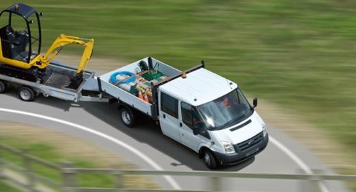 Transit bérlés, Ford Transit teherautó bérlés, furgon bérlés